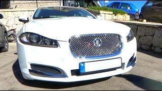 Review: 2012 Jaguar XF Full Interior Tour, Quick Walkaround, Engine, Exhaust