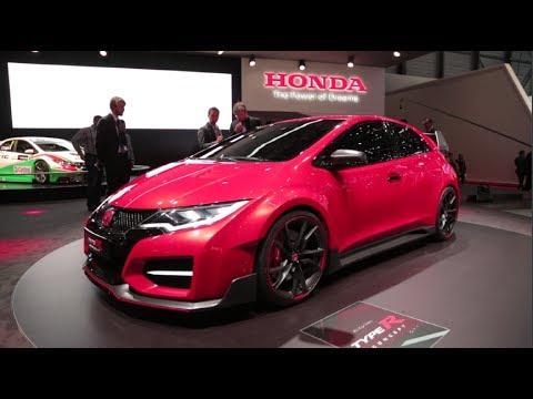 Honda Civic Type R Concept 2014 Geneva Motor Show Youtube