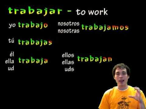 02 Spanish Lesson - Preterite AR verbs (part 1) - YouTube