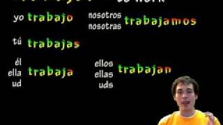 02 Spanish Lesson - Preterite AR verbs (part 1)