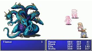Final Fantasy 1 (PSP) ALL Bosses