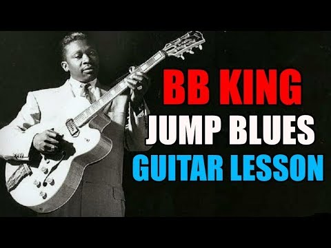 Jump Blues Licks in the style of BB King (his early years) w/tabs
