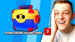 7 VERBLEIBENDE GEGENSTÄNDE! 😱 | Meine BESTE MEGA BOX! | Brawl Stars deutsch
