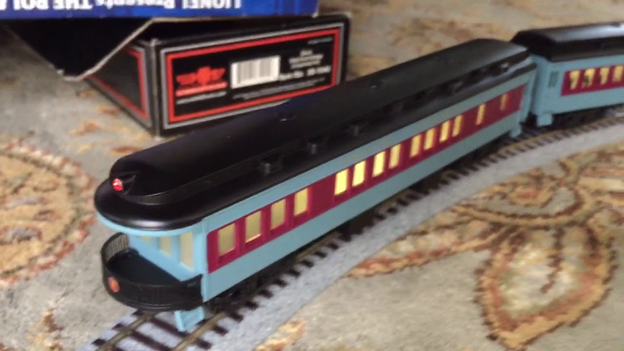 My Lionel Polar Express Ho Scale Toy Train Video Chocolate Car