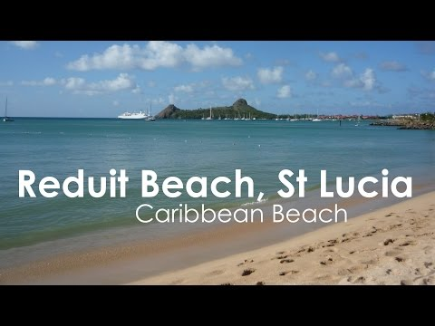 St Lucia Reduit Beach Rodney Bay