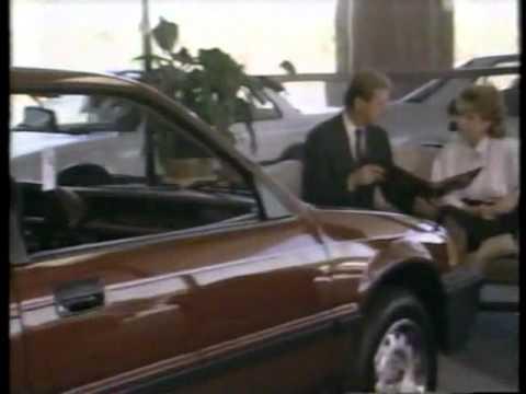 Darrell Waltrip Honda Ad 1987 Tennessee