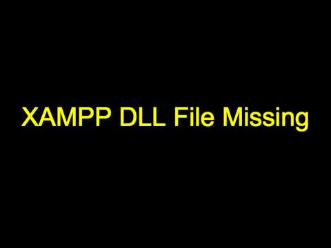 Xampp Runtime Dll Missing