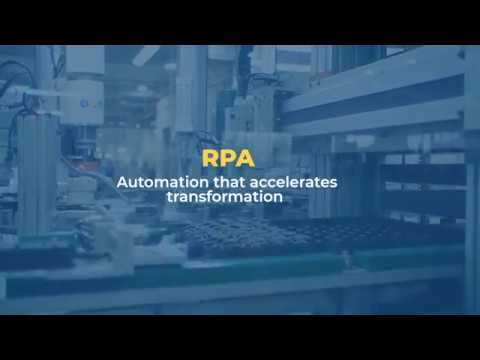 Robotic Process Automation (RPA) solutions for digitalizing industries.