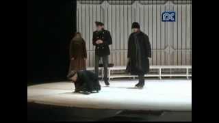 Труппа Александринского театра представила в Вологде спектакль по пьесе Николая Гоголя «Женитьба»