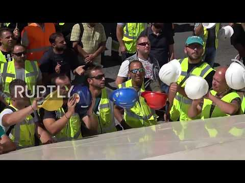 Greece: Miners march as Eldorado Gold threatens to pull out of Greece