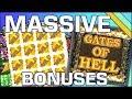 "Massive ""Gates of Hell"" Free Spins Bonuses!"