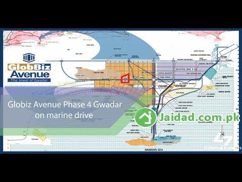 Globiz Avenue Phase 4 on marine drive gwadar and other authentic housing societies in Gwadar jaidad