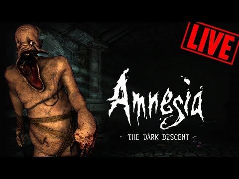 Jeden z lepszych horrorów do tej pory - Amnesia: Mroczny Obłęd [ZAPIS LIVE]