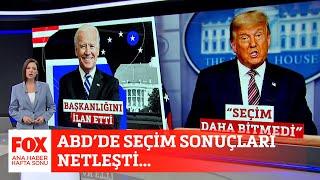 ABD'de seçim sonuçları netleşti... 8 Kasım 2020 Gülbin Tosun ile FOX Ana Haber Hafta Sonu