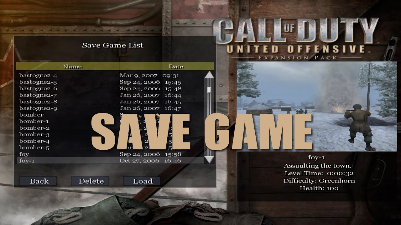 PC - Call of Duty: Modern Warfare 2 - SaveGame.Pro