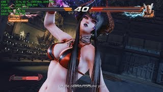 Tekken 7 PC Max Settings 4k - Swimsuit Eliza DLC Arcade Gameplay Gigabyte Aorus GTX 1080 Ti