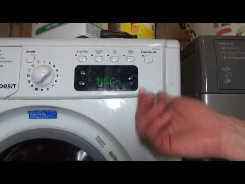 Indesit Advance 7kg wash 5kg dry IWDE7145 Washer Dryer Overview