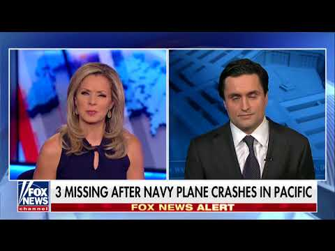 3 missing after Navy plane crashes in the Pacific   Fox News Video