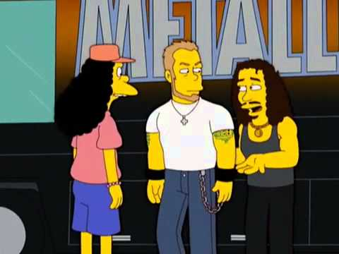 Симпсоны металлика