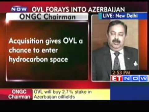 OVL to buy 2.7% stake in Azerbaijan oil fields