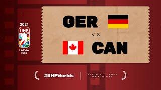 Highlights: GERMANY vs CANADA | 2021 #IIHFWorlds