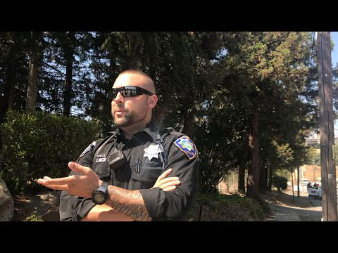 (Stupid) Officer gets put in check! Martinez CA