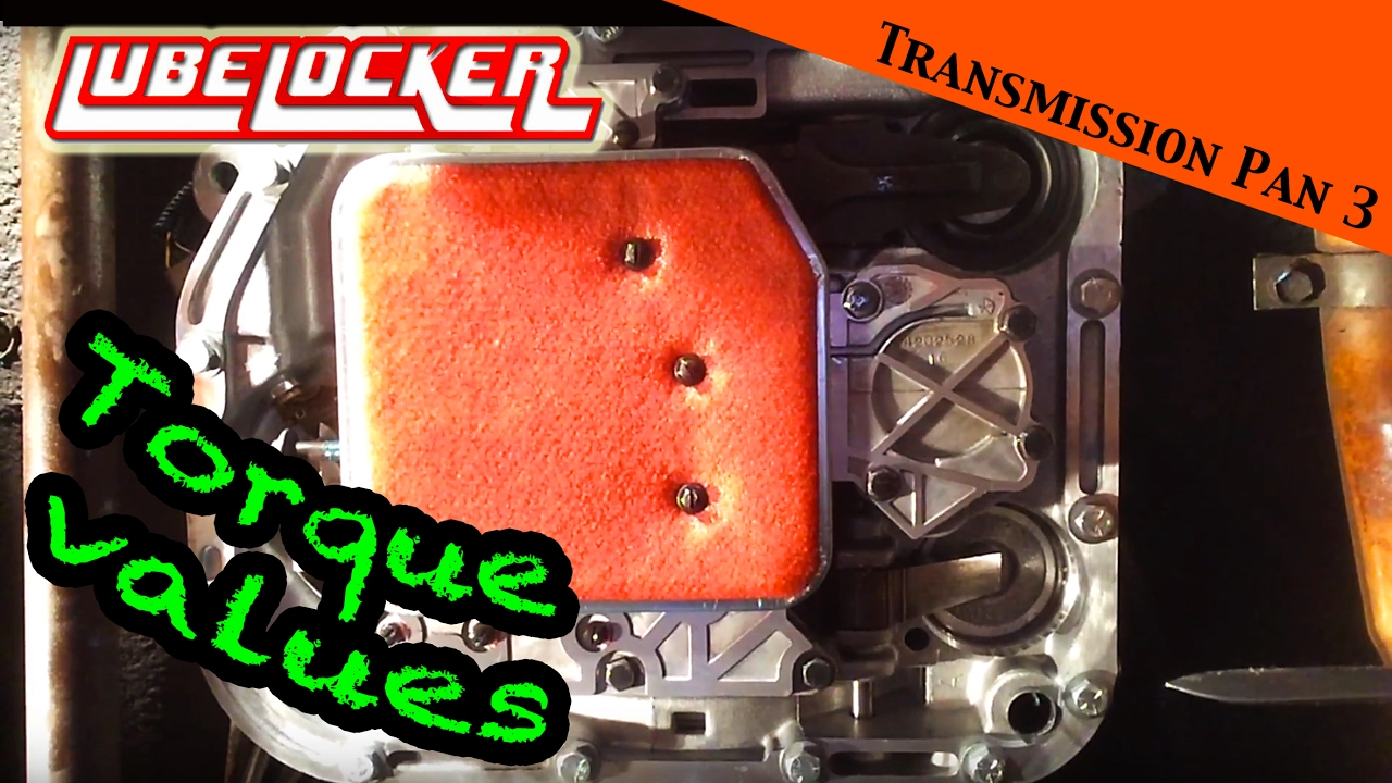 100% sealed Torqueflite transmission pan - LubeLocker instructions - JEEP  Wrangler YJ : Ep 12