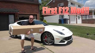 Installing The FIRST MOD To My Ferrari F12!