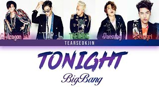 Скачать BIGBANG Tonight Lyrics Color Coded Han Rom Eng