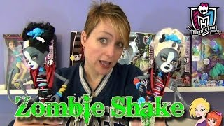 Monster High Zombie Shake Werecat Twins Doll Review