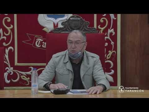 Pleno Ordinario del Ayuntamiento de Tarancón (29 de Abril de 2021)