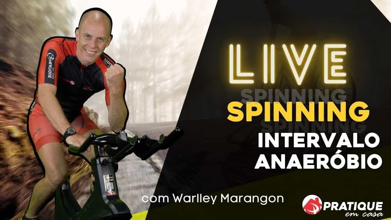 Download #Pratique em casa - Treino de Spinning Professor Warlley Marangon - 22/10 - 07:00