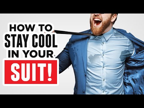How To Stop EXCESSIVE Sweating While Wearing A Suit