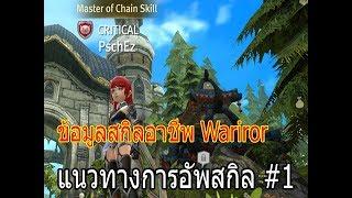 แนะนำสกิลอาชีพ Wariror ทริคข้อมูลสกิล อัพสกิลแบบไหนดี? | WOD | World of Dragon Nest
