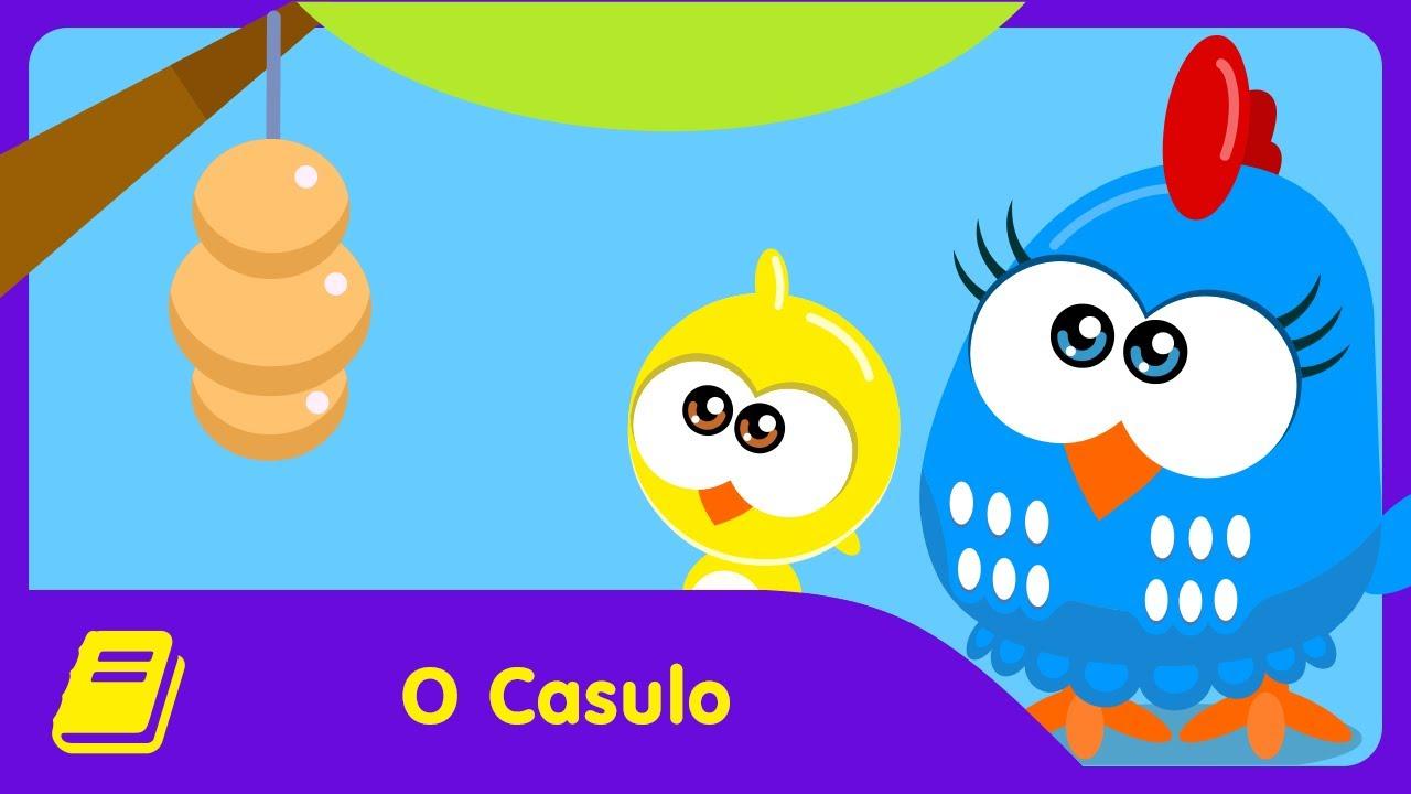 Galinha Pintadinha Mini - Historinha - O Casulo