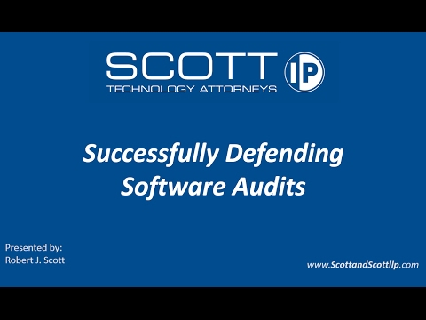 2017 Successfully Defending Software Audits