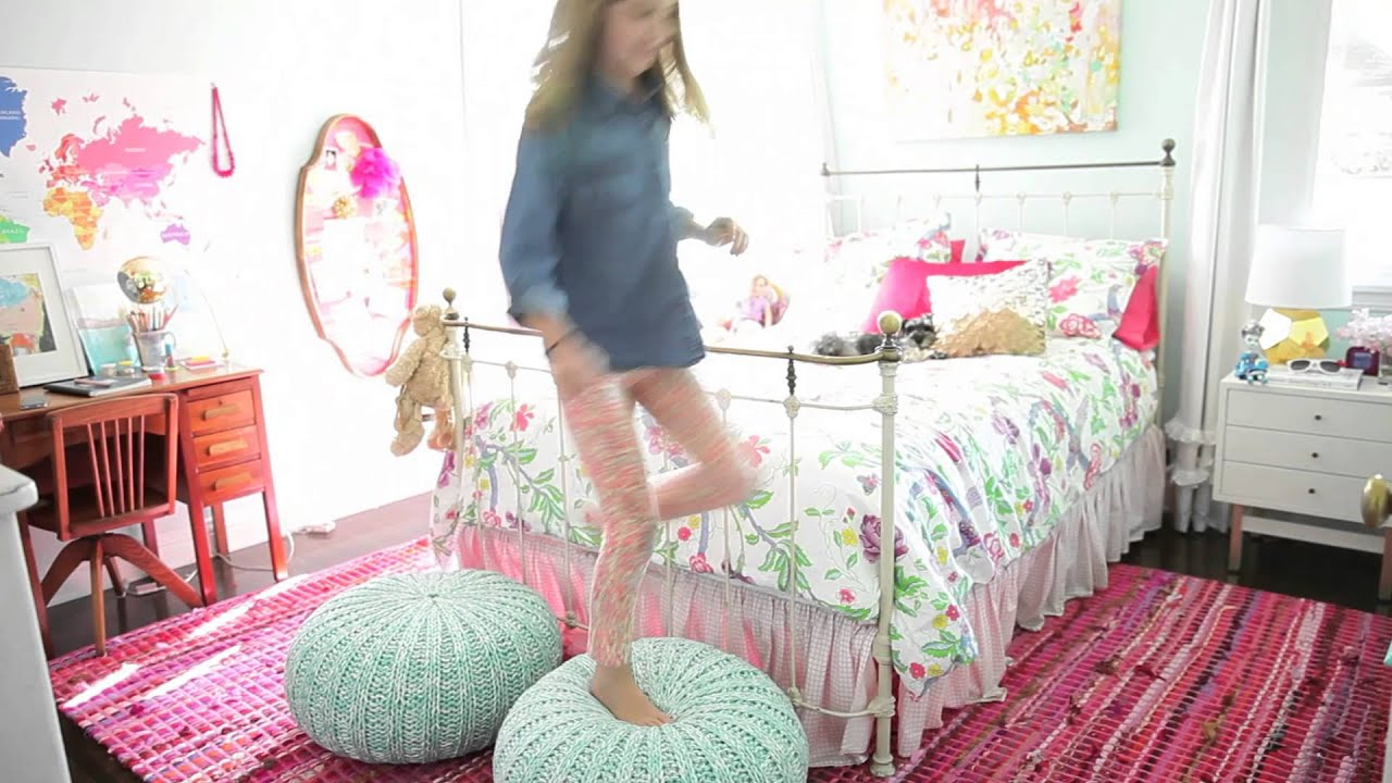 Really Cute Teal Teal Wallpaper How To Style A Girls Room Youtube