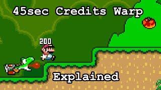 45sec SMW Credits Warp Explained