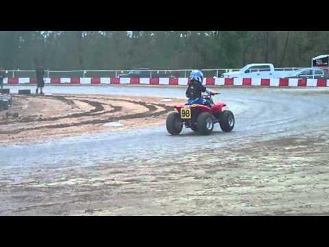Practice Circle track 50cc KC Raceway 4/17/16