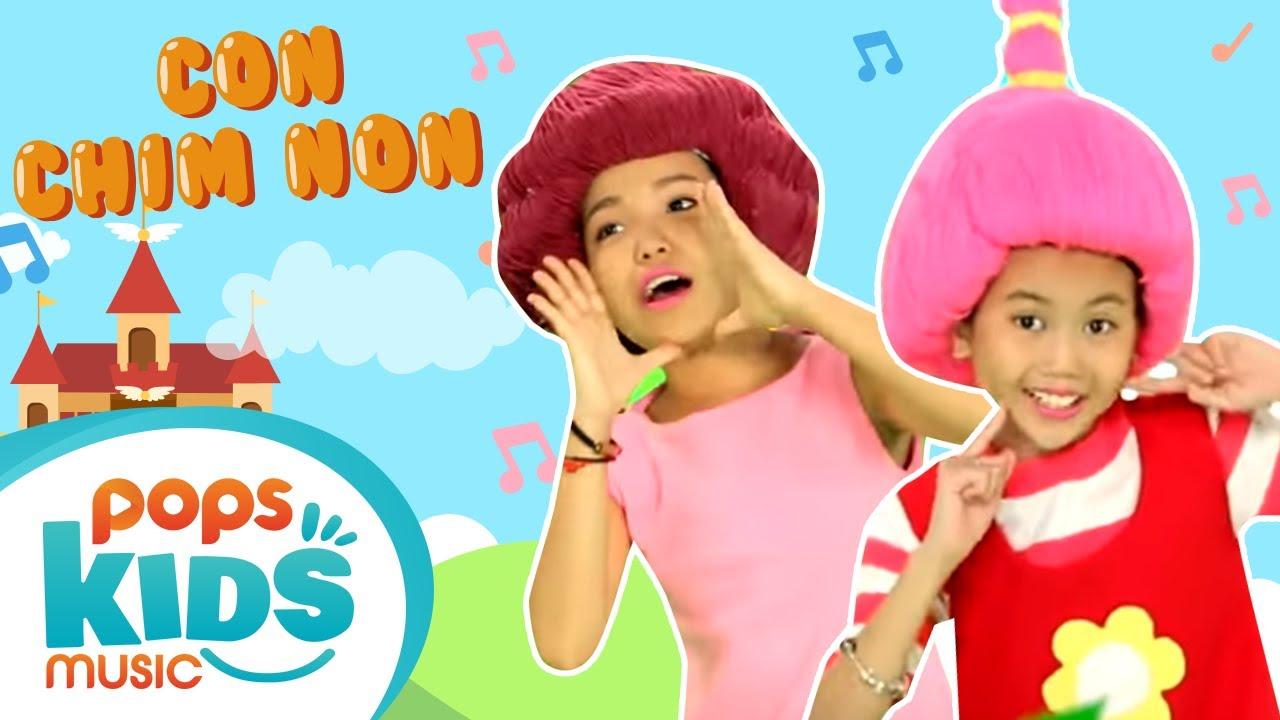 Mầm Chồi Lá - Con Chim Non - Nhạc Thiếu Nhi Hay Cho Bé | Vietnamese Songs For Kids