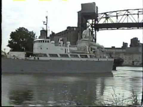 Buffalo & Welland Canal area shipping 1994-95