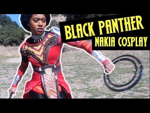 BLACK PANTHER NAKIA COSPLAY 2018 | Timaloveslemons