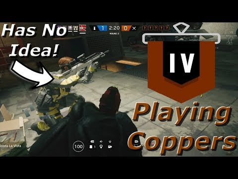 Easy Hiding Spots! Road To Copper - Rainbow Six Siege Funny Moments