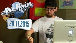 #MoinMoin mit Tim | Musik am Morgen vertreibt schlechte Laune | 20.11.2015