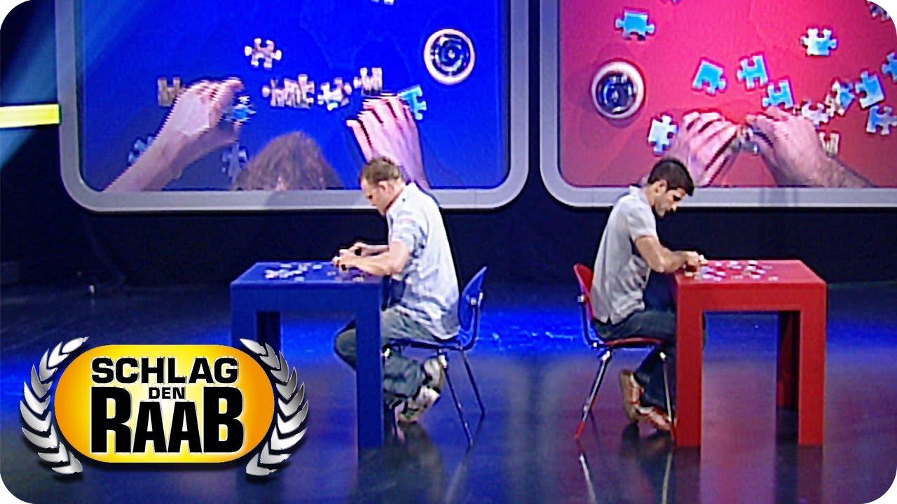 Puzzle | Raab vs. Matthias | Spiel 14 - Schlag den Raab #3