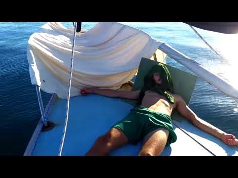 Becalmed at sea — Sailing Uma [Step 109]
