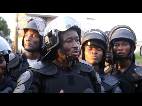 Police patrol Guinea capital after post-election clashes