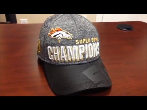 Denver Broncos Super Bowl 50 Champions Locker Room Hat