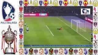 JDT vs Terengganu 3 - 1 Piala Malaysia 2014 (Suku Akhir Kedua)