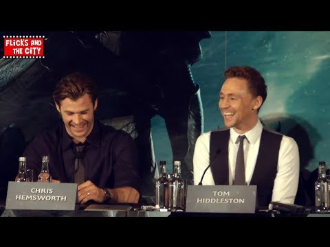 Thor The Dark World Cast Interviews - Chris Hemsworth, Tom Hiddleston, Natalie Portman
